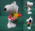 Snoopy/PVCキーホルダー(C)