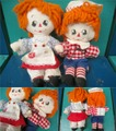 Raggedy Anne&Andy/Rug Set(mini-A)