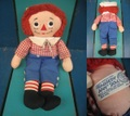 Raggedy Andy/ドール(38cm/1960s)