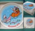 ディズニー/クリスマスプレート(1978)