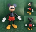 ミッキーマウス/ベンダブルフィギュア(80s)