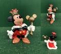 ミッキーマウス/PVCフィギュア(80s/D)