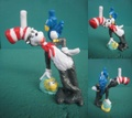 Dr.Seuss/PVCフィギュア(Cat in the Hat)