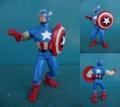 Captain America/PVCフィギュア(1987/CS)
