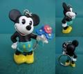 ミッキーマウス/PVCフィギュア(80s/B)