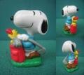 Snoopy/PVCフィギュア(ゴルフ)