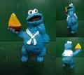 クッキーモンスター/PVCフィギュア(A)