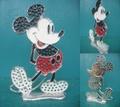 ミッキーマウス/ピアスホルダー(70s)