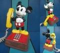 ミッキーマウス/電話機(70s/ダイヤル式)