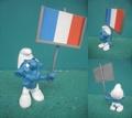 スマーフ/フランス国旗