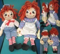 Raggedy Anne&Andy/セット(00s/35cm)