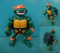 TMNT/Talking Mike.(Loose)