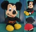 ミッキーマウス/ぬいぐるみ(38cm/B)