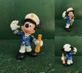 ミッキーマウス/PVCフィギュア(80s/船長)