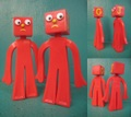 Gumby/Blockheads(Loose/set)