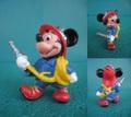 ミッキーマウス/PVCフィギュア(消防士)
