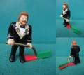 Ted Dibiase/PVCフィギュア(Hockey)