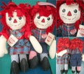 Raggedy Anne&Andy/Rug Set(applause)