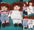 Raggedy Anne&Andy/セット(00s/30cm)