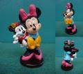 ミニーマウス/PVCフィギュア(お人形)
