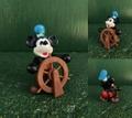 ミッキーマウス/PVCフィギュア(80s/蒸気船ウィリー)
