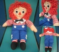 Raggedy Andy/ドール(30cm/90s)