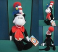 Dr.Seuss/ぬいぐるみ(Cat in the hat/45cm)