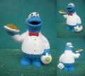 クッキーモンスター/PVCフィギュア(ウェイター)