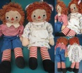 Raggedy Anne&Andy/セット(40s/50cm)
