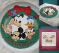 ディズニー/クリスマスプレート(1981)