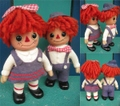 Raggedy Anne&Andy/ROYALTY SET(B)