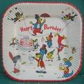 ハックルベリー/紙皿(1959)