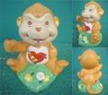 CareBear/セラミックフィギュア(Playful Heart Monkey)