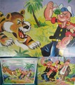 POPEYE/JUNBO PUZZLE(1960s/C)