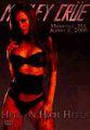 MOTLEY CRUE / LIVE IN WASHINGTON 8-9-2000