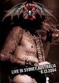 BRIDES OF DESTRUCTION / LIVE IN SYDNEY,AUSTRALIA 8-13-2004