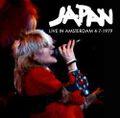 JAPAN / LIVE IN AMSTERDAM 4-7-1979