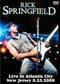 RICK SPRINGFIELD / LIVE IN NEW JERSEY 9-25-2009