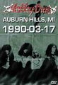 MOTLEY CRUE / LIVE IN DETROIT 3-17-1990