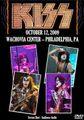 KISS / LIVE IN PHILADELPHIA 10-12-2009
