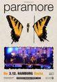 PARAMORE / LIVE IN HAMBURG,GERMANY 12-3-2009