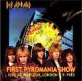 DEF LEPPARD / LIVE AT MARQUEE,LONDON 2-9-1983