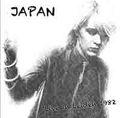 JAPAN / LIVE IN LEIDEN 10-7-1982