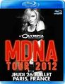 MADONNA / LIVE IN OLYMPIA,PARIS 7-26-2012 BLU-RAY EDITION