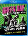GREEN DAY / LIVE IN NEW YORK 2012 BLURAY EDITION