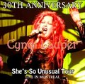 CYNDI LAUPER / LIVE IN MONTREAL 10-26-2013
