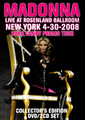 MADONNA / LIVE IN NEW YORK 2008 COLLECTOR'S EDTION