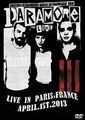 PARAMORE / LIVE IN PARS 4-1-2013