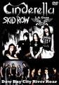 CINDERELLA,SKID ROW,LA GUNS / LIVE IN RIVER ROAR 6/22/2012