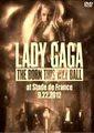 LADY GAGA / BORN THIS WAY BALL IN FRANCE 9-22-2012